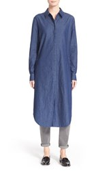 Women's Equipment 'Pascal' Oversized Denim Tunic