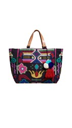 Star Mela Vita Embo Tote Navy Multi