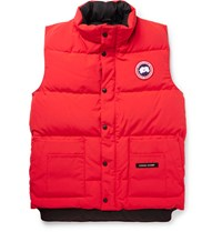 Canada Goose Freestyle Quilted Shell Down Gilet Red