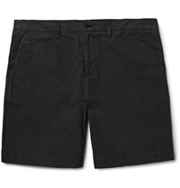 Burberry Cotton Poplin Chino Shorts Black
