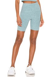 Beyond Yoga High Waisted Biker Short Blue
