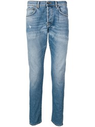 Haikure Classic Slim Fit Jeans Blue