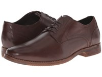 Rockport Style Purpose Plaintoe Dark Brown Men's Lace Up Casual Shoes