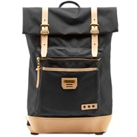 Master Piece Surpass Rolltop Backpack Black