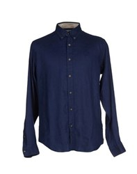 Timberland Shirts Shirts Men Dark Blue