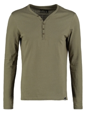 Your Turn Serafino Long Sleeved Top Khaki