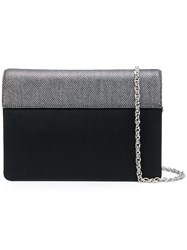 Rodo Panelled Clutch Bag Black