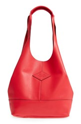 Rag And Bone Camden Leather Tote Red True Red
