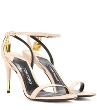 Tom Ford Leather Sandals Neutrals