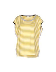 Marella T Shirts Yellow