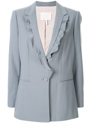Rebecca Taylor Suiting Ruffle Jacket 60
