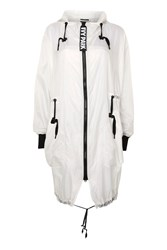 Ivy Park Para Parka By White
