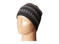 Tommy Hilfiger Fair Isle Hat Charcoal Caps Gray
