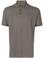 Z Zegna Simple Polo Shirt Green