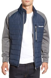 Men's Bench. Intellectual Quilted Jacket Total Eclipse