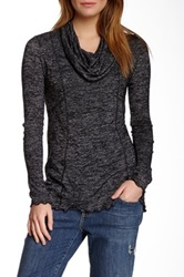 Miraclebody Jeans Chloe Cowl Neck Sweater Black