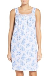 Eileen West Women's Cotton Jersey Chemise