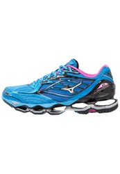 Mizuno Wave Prophecy 6 Neutral Running Shoes Diva Blue Silver Electric