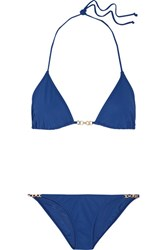 Tory Burch Gemini Triangle Bikini Navy