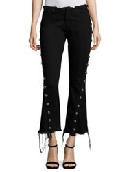 Marques Almeida Denim Capri Jeans Black
