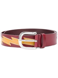 Etoile Isabel Marant Chic Design Belt Red