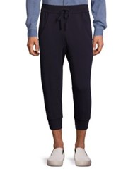 Vince Cropped Sweatpants Coastal Blue