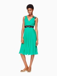Kate Spade Embellished Bow Dress Emerald Ring