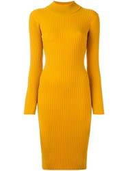 Vivetta Tamaro Dress Yellow Orange