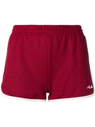 Fila Logo Embroidered Track Shorts