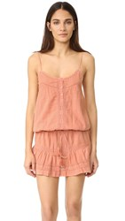 Melissa Odabash Karen Dress Dusty Rose