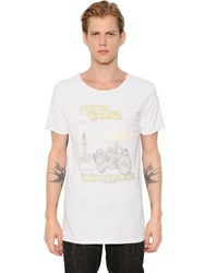 Matchless London Extra Vintage Cotton Jersey T Shirt