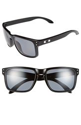 Oakley 'Holbrook' 55Mm Polarized Sunglasses Polished Black