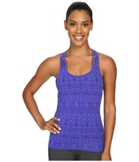 Marmot Vogue Tank Top Gemstone Batik Women's Sleeveless Blue