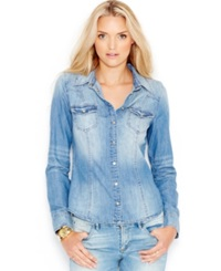 Guess Slim Fit Denim Shirt