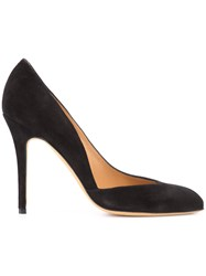 Alexa Wagner Classic Pumps Women Leather Suede 37 Black