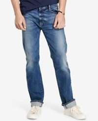Denim And Supply Ralph Lauren Men's Bedford Straight Fit Jeans Carlsson
