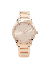 Forever 21 Roman Numeral Watch Rose Gold
