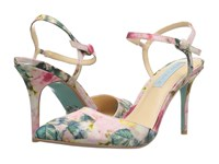 Blue By Betsey Johnson Anina Floral High Heels Multi
