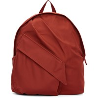 Raf Simons Red Eastpak Edition Classic Backpack