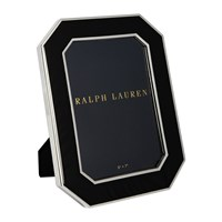 Ralph Lauren Home Becker Frame 5X7 Black Silver