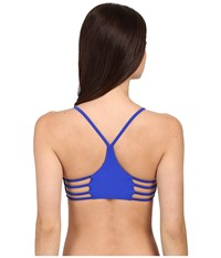 Body Glove Smoothies Alani Halter Top Abyss Women's Swimwear Navy