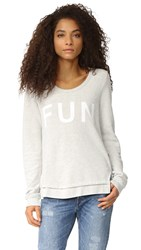 Sol Angeles Fun Sweatshirt Light Heather