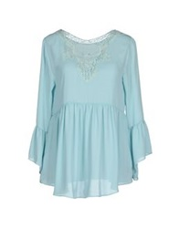 Darling Blouses Sky Blue