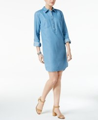 Styleandco. Style Co. Petite Denim Shirtdress Only At Macy's Sun Wash