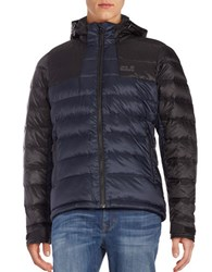 Jack Wolfskin Greenland Down Puffer Jacket Night Blue