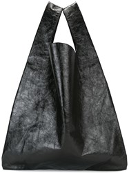 Maison Martin Margiela Mm6 Shopping Tote Black