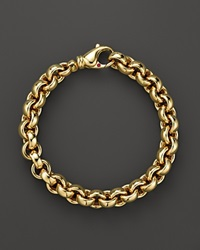 Roberto Coin 18K Yellow Gold Small Round Link Bracelet Bloomingdale's Exclusive