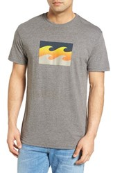 Billabong Men's Team Wave Graphic T Shirt