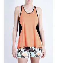 Sweaty Betty Pacesetter Jersey Vest Top Passion Coral