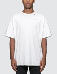 Off White Unfinished T Shirt White